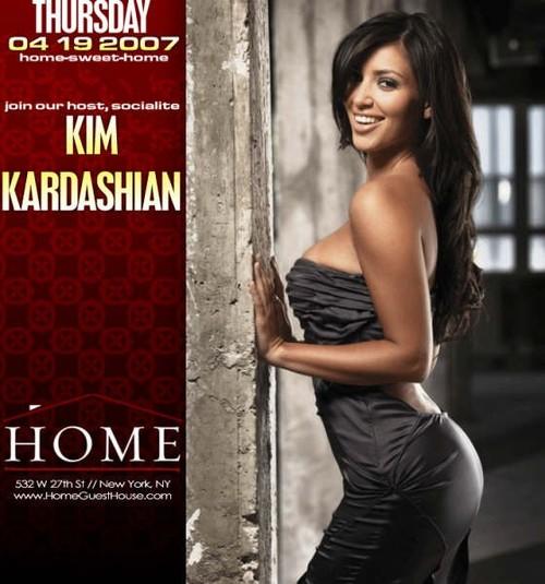 Celeb socialite kim kardashian hosts @ home 10 00 pm exclusive rsvp