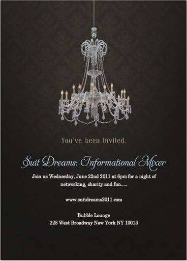 Suit Dreams Inforamtional Mixer June 22 @ Bubble Lounge
